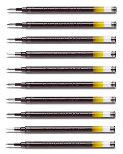 Pilot Bolígrafo de gel G2 07 (10 unidades), color negro