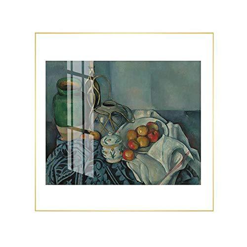 ZUEN Sencillo y Moderno Mural de Lienzo Arte de la Pared Matisse Pintura al óleo decoración Sala de Estar/Dormitorio/Cocina/Oficina/Hotel,B,70 * 70cm
