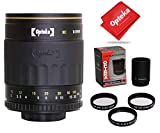 Opteka 500-1000mm f/8 HD Mirror Telephoto Lens for Canon EOS 80D, 77D, 70D, 60D, 60Da, 50D, 7D, 6D, 5D, 5DS, 1DS, T7i, T7s, T7, T6s, T6i, T6, T5i, T5, T4i, SL2 and SL1 Digital SLR Cameras