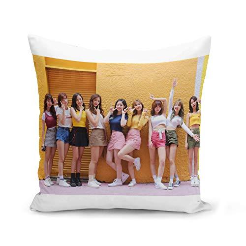 Fabulous Funda de Cojín 40x40 cm Twice Girl Group KPOP Stars Corea Seoul
