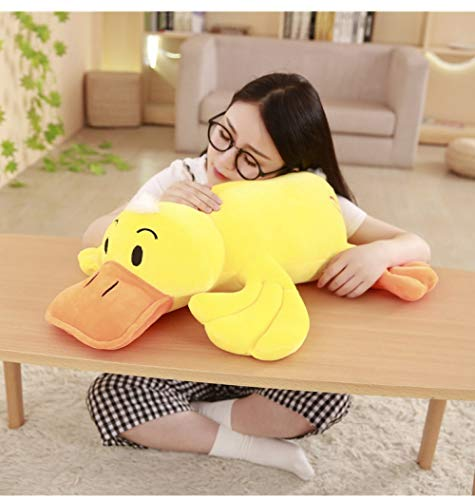 Hanyyj Plush Toys Size Duck Plush Dolls Stuffed Soft Yellow Duck Pillow Cushion Cute Duck Toys Kids Birthday Gifts 40 Cm