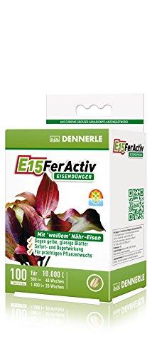 Dennerle 4471 E15 Fer Activ Eisendünger für Aquarienpflanzen, 100 Stük