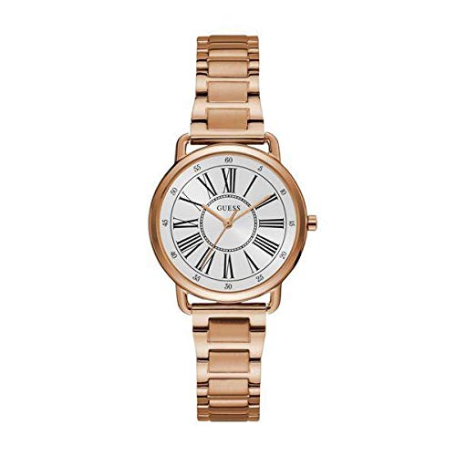 GUESS dames analoog kwarts horloge met roestvrij stalen armband 8.43124E+12