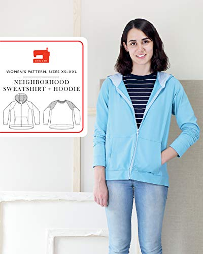 Neighborhood Sweatshirt + Hoodie Sewing Pattern