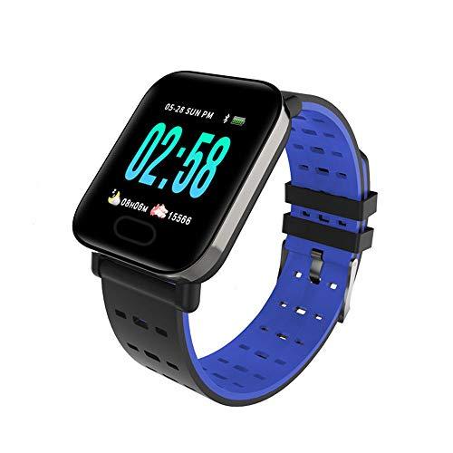 Ningz0l Fitness Tracker Smart Armband Uhr Real-Time Herzfrequenz Blutdruck schlafen Überwachung wasserdicht Farbe Bildschirm Sport Bracelet