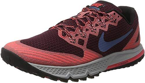 Nike Air Zoom Wildhorse 3, Scarpe da Trail Running Uomo, Multicolore (Kastaniennacht/Ember Glut Orange/Schwarz/ozean Nebel Blau), 41 EU