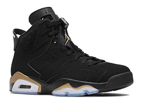 Jordan Nike Uomini Scarpa 6 Retro DMP 2020 CT4954-007 Nero/Metallico Oro, (nero/oro metallizzato-nero.), 42.5 EU