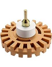 Adaskala Rubber Universele Eraser Wheel Strip Off Wheel Pinstripe Dubbelzijdige Zelfklevende Vinyl Decal Grafische Verwijdering Tool Repareren Tool