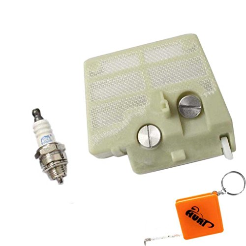 HURI Luftfilter (Nylon) für Stihl 024 026 MS260 MS240 Neu Modelle mit Zündkerzen
