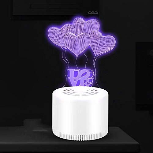 USB oplaadbare Met 3D Illusion LED Mosquito Lamp, for Indoor Outdoor slaapkamer Babykamer Keuken Kantoor (Color : C)