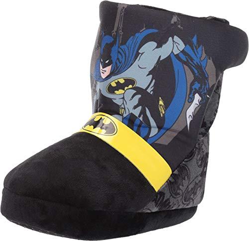 Favorite Characters Boy's Batman Slipper Boot BMF251 (Toddler/Little Kid) Black LG (9-10 Toddler) M