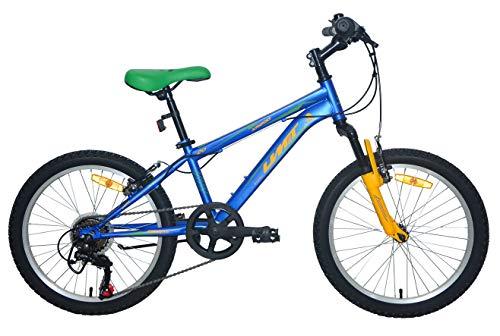 Umit Bicicleta 20' XR-200 Azul con Cambio Shimano 6V. Y Suspension Delantera