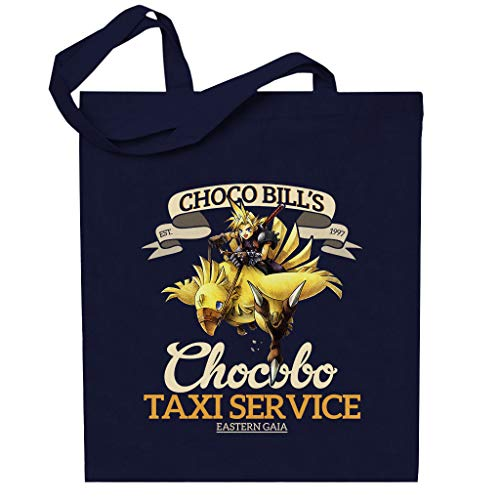 Cloud City 7 Chocobo Taxi Service Final Fantasy VII Totebag