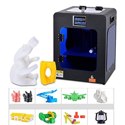 YXFYXF Imprimante 3D, Mini, Reprise De L'Alimentation, DéTection De Rupture De Filament, Impression Haute PréCision, Silence, Portable LéGer De Petite Taille, Architecture/Maison (320 X 310 X 400Mm)