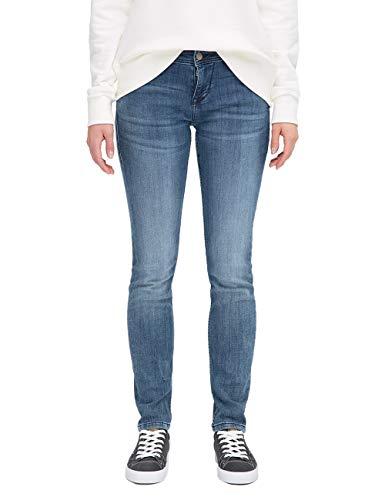 Mustang Jasmin Jean Slim, Bleu (Medium Middle 585), W32/L36 (Taille Fabricant: 32/36) Femme