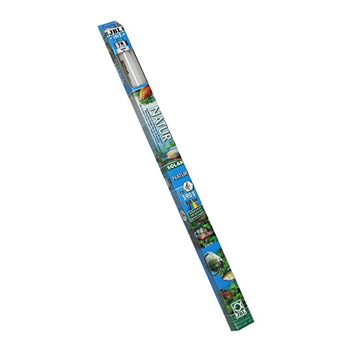 JBL 61631 Solar-Leuchtstoffröhre Tageslichtröhre für Süßwasseraquarien, 18 W Solar Natur T8