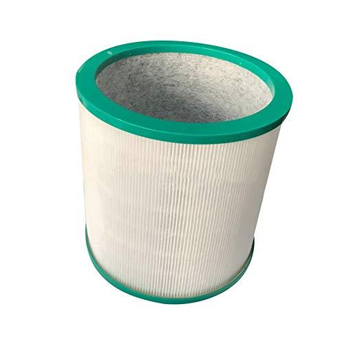 Accesorios para aspiradoras Cilindro de filtro de 360 ° Reemplazar compatible con Dyson BP01 TP01 TP02 TP03 AM11 968126-03 Compatible con Pure Cool Me BP01 Link Purizing Fan Carpiador de aspirador F