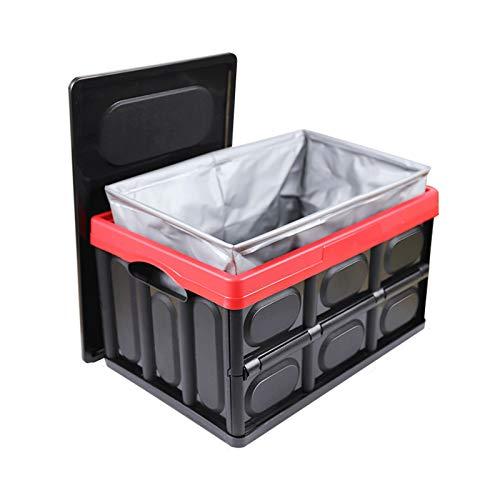 Organizador de automóviles Caja de almacenamiento plegable 30 litros Durable Plástico Tronco Maleta de almacenamiento, interior / de automóvil / artículos al aire libre necesarios Accesorios para Camp