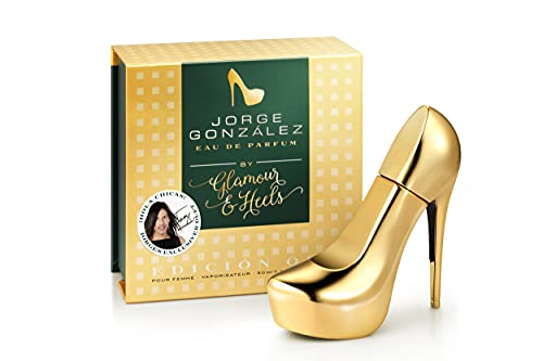 JORGE GONZÁLEZ by GLAMOUR & HEELS – EDICIÓN ORO, Eau de Parfum 50 ml, Damenduft, Duft für Frauen, F