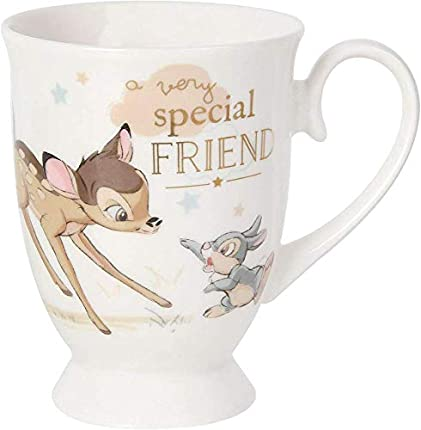 Marca: Disney Bambi Special Friends Magical Moments Bambi & Thumper Taza DI361, 200 g