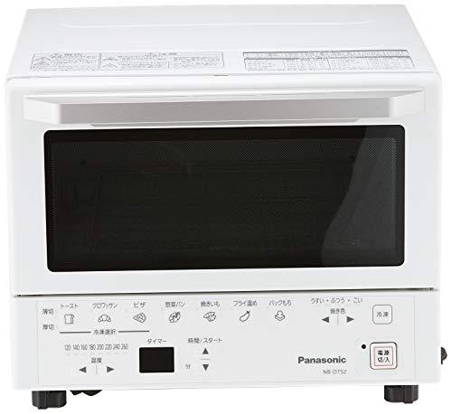 パナソニックコンパクトオーブントースト焼き加減自動調整8段階温度調節ホワイトNB-DT52-W