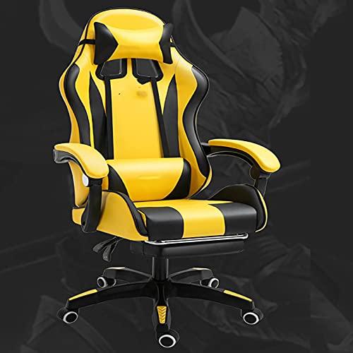 Gaming Stuhl, Hohe Rückenlehne Mesh Bürostuhl Ergonomischer Drehstuhl Home Games Racing Computer Schreibtischstühle für Erwachsene & Jugendliche