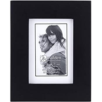 """Black Wood 2/""""x3/"""" Picture Photo Frame"""
