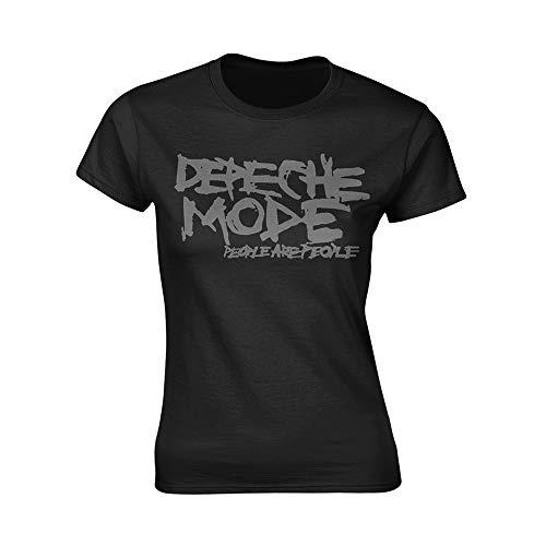 Ladies Depeche Mode People Are People offiziell Frauen T-Shirt Damen (X-Large)