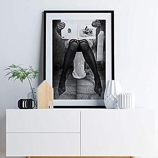 supmsds Sin Marco Ponerse al día con la Lectura Cartel nórdico Lienzo Pintura fotografía Arte de la Pared Imágenes para Sala de Estar Impresiones Decorativas Modernas