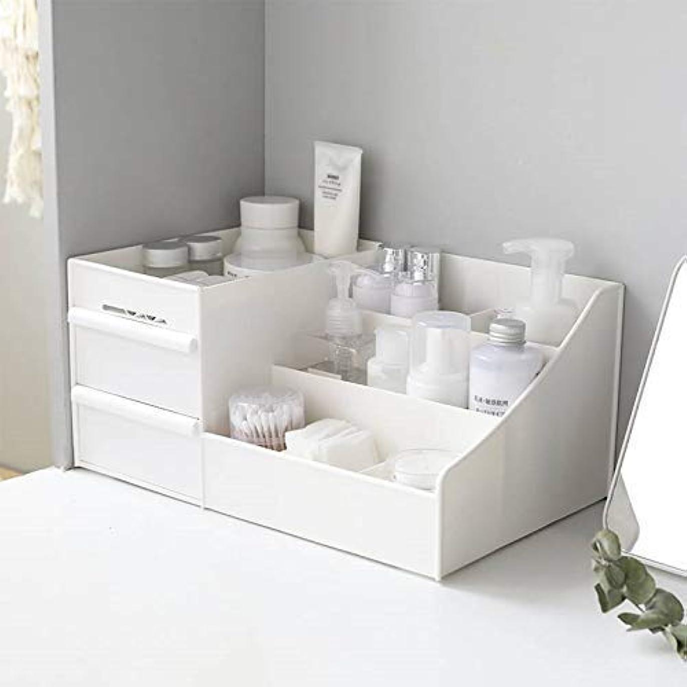 反逆者歴史家保護するPlastic Storage Box Makeup Drawers Organizer Box Jewelry Container Make up Case Cosmetic Office Boxes Make Up Container Boxes