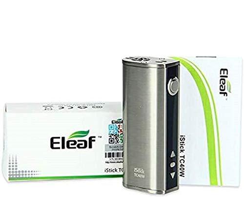 Cigarette Électronique Eleaf iStick 40W TC Contrôle De Température VV/VW Kit de MOD, Sans Nicotine, Sans E Liquide (grise)