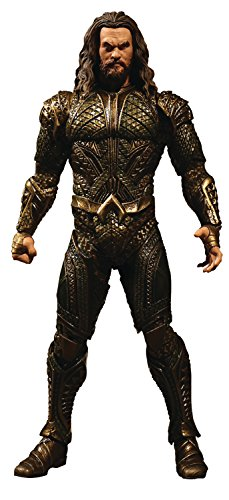 Mezco Toys One: 12 Collective: DC Justice League Movie Aquaman Action Figure