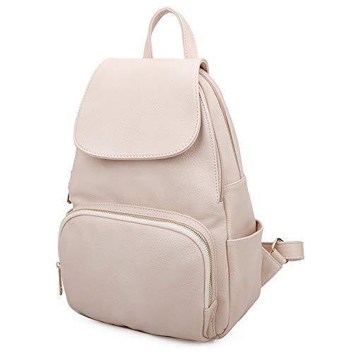 New Unisex Soft Faux Leather Star Design Medium Backpack Bag/Women/Men...
