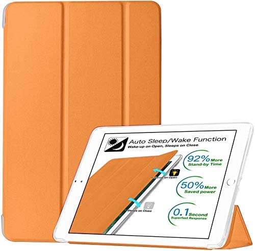 DuraSafe Cases for iPad PRO 9 7 Inch 2016 A1673 A1674 A1675 Smart Cover with Soft Silicone Back product image