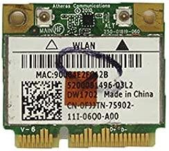 Laptop Wireless WiFi Card for DELL Vostro V13 V130 N5110 N5010 for Inspiron One 2320 DW1702 0FJJTN FJJTN AR5B195 150M Bluetooth 3.0 Used