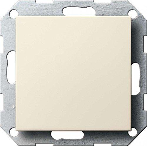 Gira 026801 Blindabdeckung mit Tragring System 55, cremeweiß