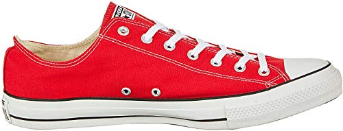 Converse Chuck Taylor All Star, Sneakers Unisex - Adulto, Rosso, 37 EU