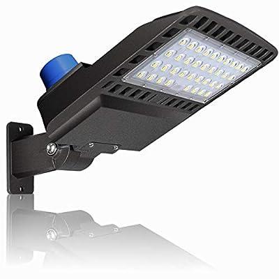 150W LED Parking Lot Lighting - Adjuatable With Photocell Slip Fitter LED Parking Lot Lights 19500lm 5000K