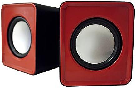 Approx 2.0 5 W Multimedia Speaker - Red