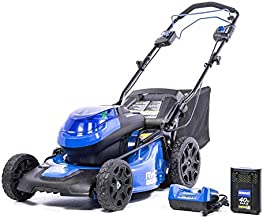 Kobalt KMP 5040-06 40-Volt Brushless Lithium Ion 20-in Self-Propelled Cordless Electric Lawn Mower