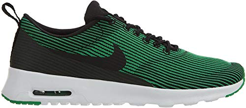 Nike Damen W Air Max THEA KJCRD Fitnessschuhe, Black (Schwarz/Schwarz-Weiß-Blatt-Frühling), 37.5 EU