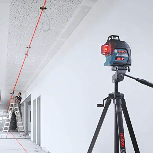 Bosch Professional Linienlaser GLL 3-80 (roter Laser, max. Arbeitsbereich: 30 m, 4x AA Batterie, im Handwerkerkoffer) - 3