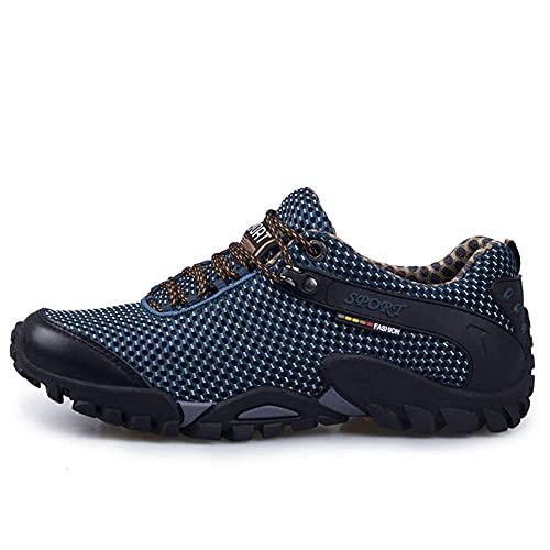 Zapatos de Piscina,Zapatos de montañismo Zapatos de Senderismo de Viaje Antideslizantes y Resistentes al Desgaste-A_43#,Cómodo