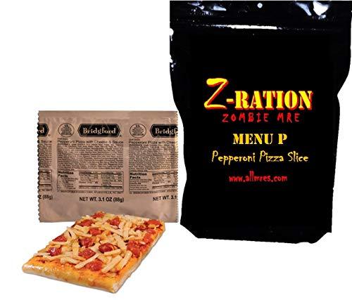 MRE Z-Ration (Zombie MRE) Custom Meals Ready to Eat! (Menu P - Pepperoni Pizza)