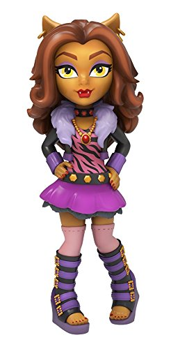 Funko 11999 Actionfigur Rock Candy: Monster High: Clawdeen