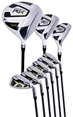 460cc Driver, 3 Wood and Hybrid 5-PW Irons Graphite Shaft on Driver and 3 Wood Headcovers for Driver, 3 Wood and Hybrid