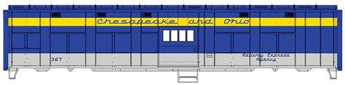 Voie H0-Express Boxcar Chesapeake & Ohio