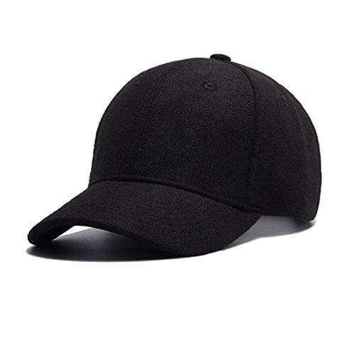 GADIEMKENSD Hat Caps for Men Baseball Sport Caps Novelty Clothing for Dad Wool Apparel Fabric Hat Baseball Adjustable by Cap The Cap Dem Hat En Hats Hats Men Caps Black