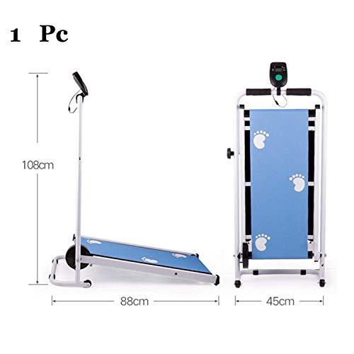SZ-JSQC Mini Tapis roulant da casa Multifunzione Attrezzo Fitness Muto Cintura Larga per la Corsa e la Camminata di Sport Indoor