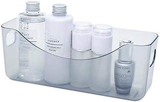 Qazxsw Panier de Rangement en Plastique, boîte de Rangement pour Salle de Bain de Bureau, Petit et Flexible, Une variété d...